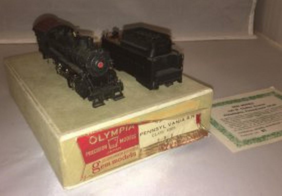 Olympia PRR HO Scale Brass Consolidation Steam Engine
