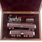 Precision Scale HO Scale Brass Lincoln Funeral Train