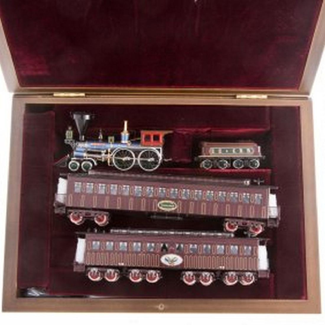 Precision Scale HO Scale Brass Lincoln Funeral Train