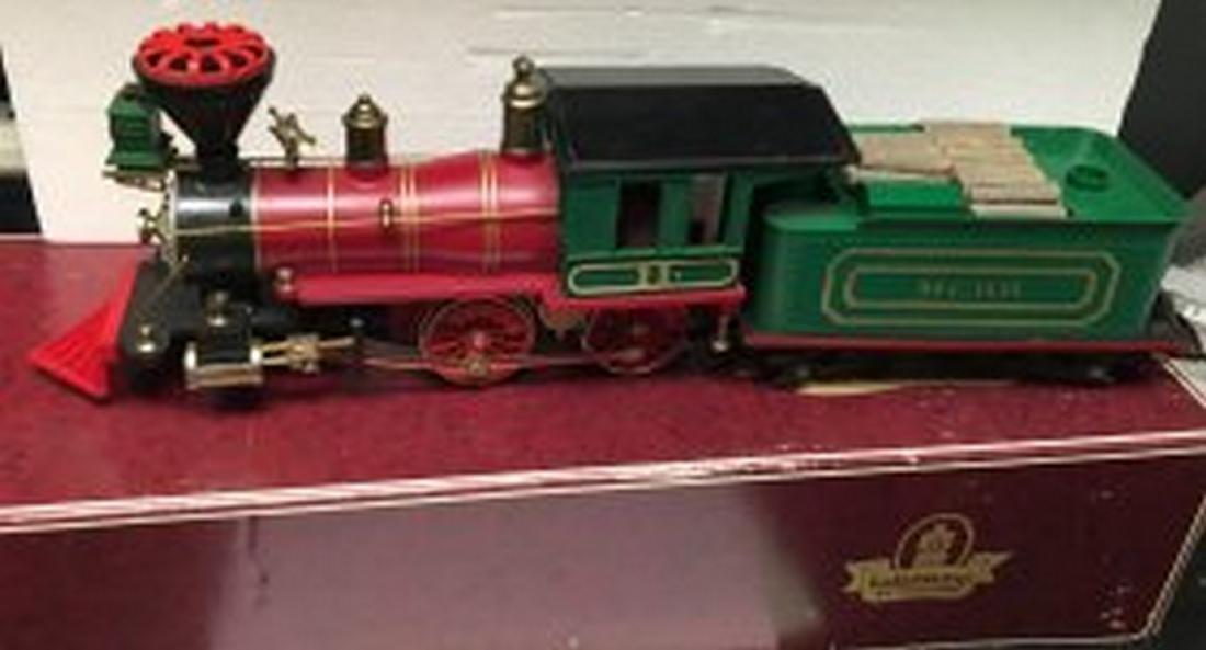 Kalamazoo MCRR G Gauge 4-4-0 Steam Engine and Tender