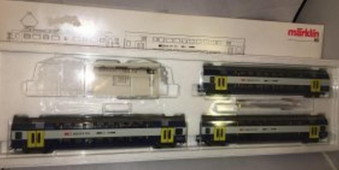 Marklin 28505 HO Scale Zurich Commuter Train Set
