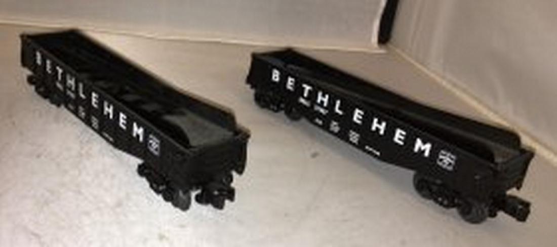 Two Lionel Betlhlehem O Gauge Culvert Cars