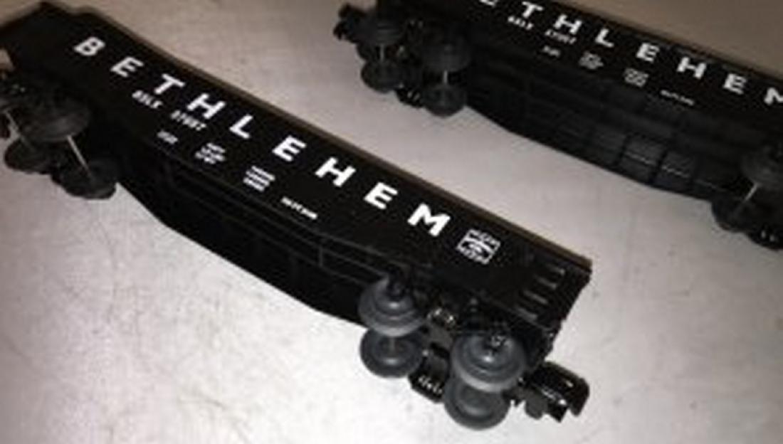 Two Lionel Betlhlehem O Gauge Culvert Cars - 4