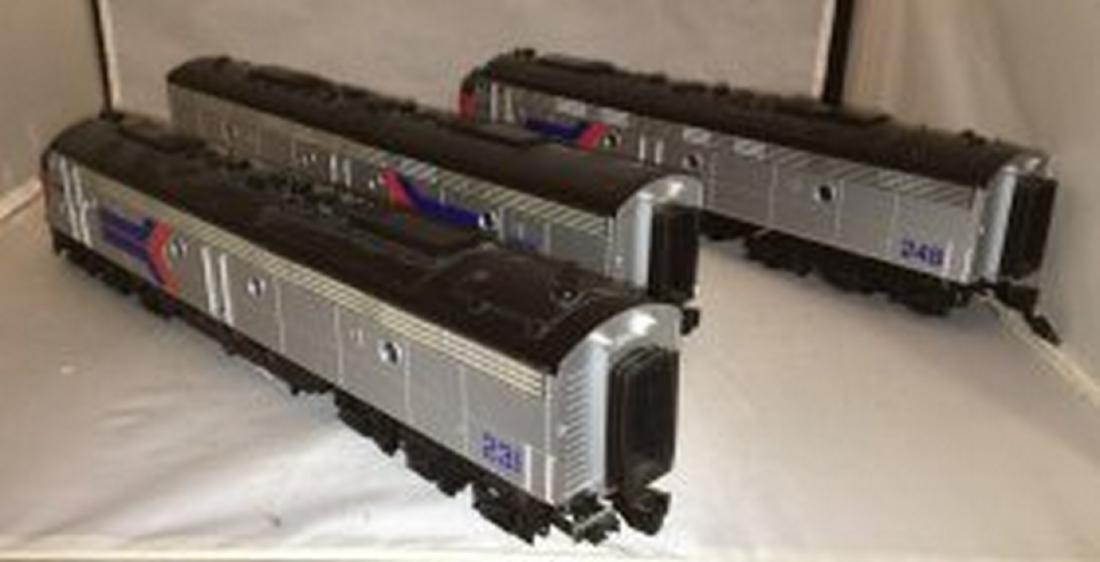 MTH Premier Amtrak O Gauge E8 ABA Diesel Set - 4