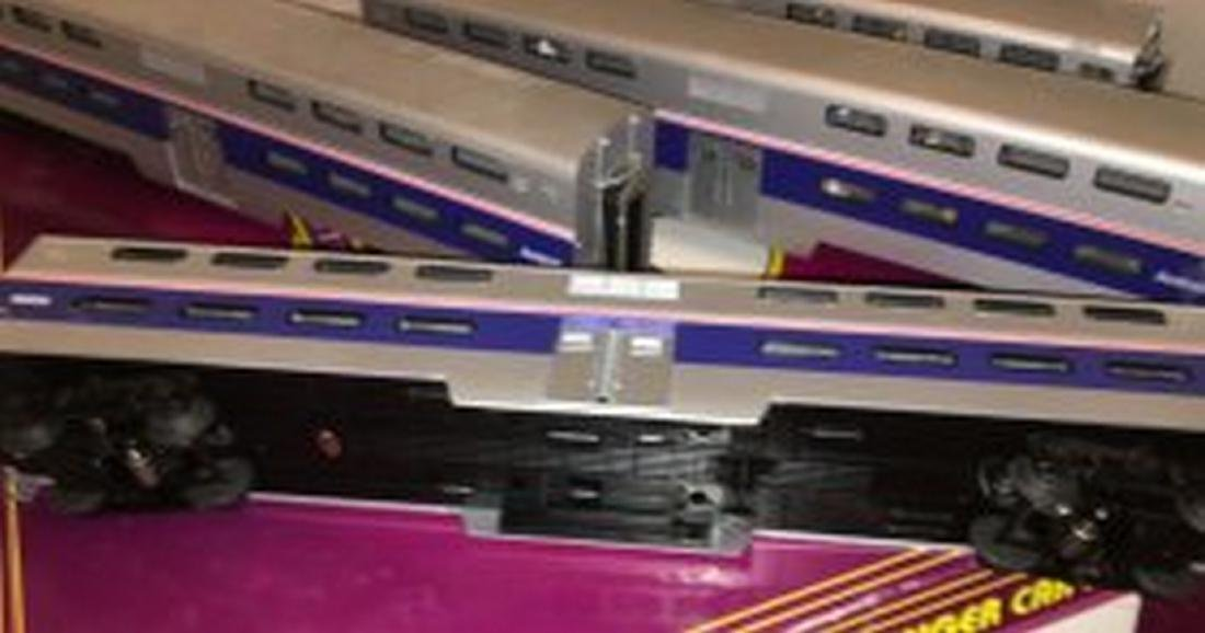 MTH Premier Amtrak O Gauge Bilevel Passenger Car Set - 4