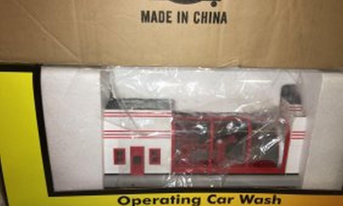 MTH 30-9167 O Gauge Bikini Car Wash