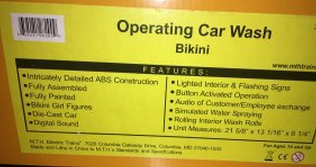 MTH 30-9167 O Gauge Bikini Car Wash - 4