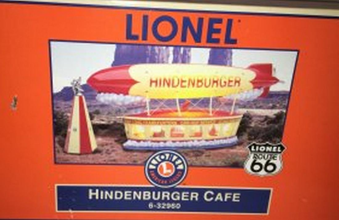 Lionel  O Gauge Hindenburger Cafe
