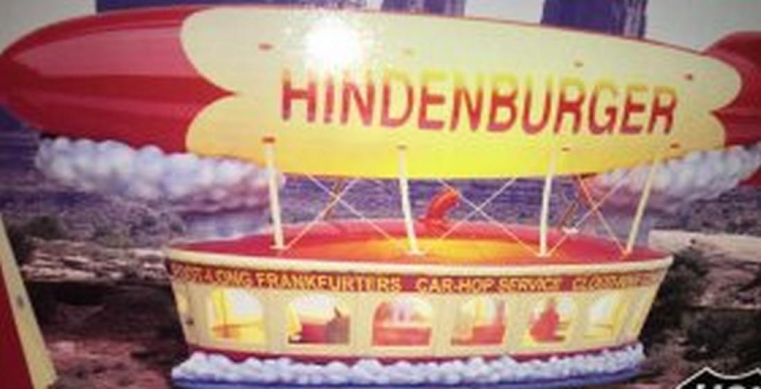 Lionel  O Gauge Hindenburger Cafe - 2