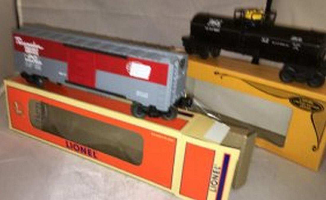Two Lionel O Gauge Freight Cars