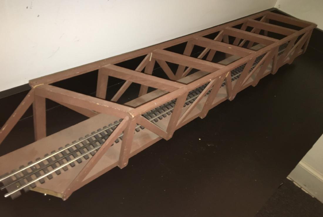 Long Wood O Gauge Bridge