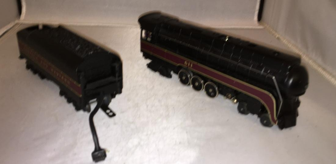 MTH NW 611 O Gauge Northern Steam Engine