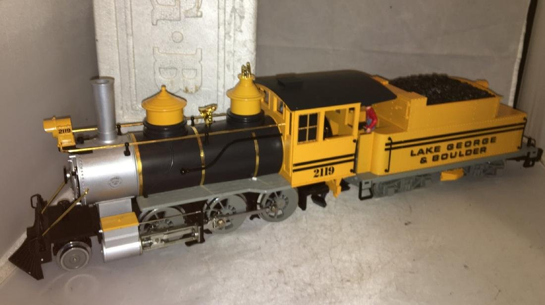 LGB Lake George G Scale Steam Engine