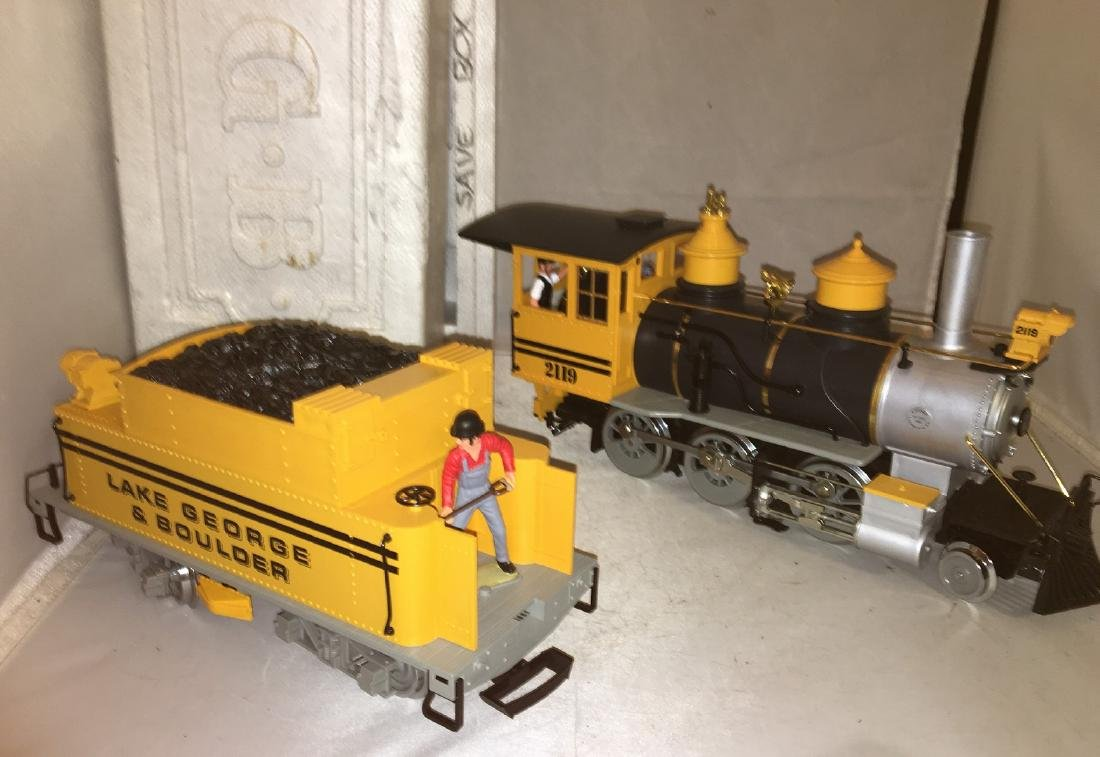LGB Lake George G Scale Steam Engine - 2