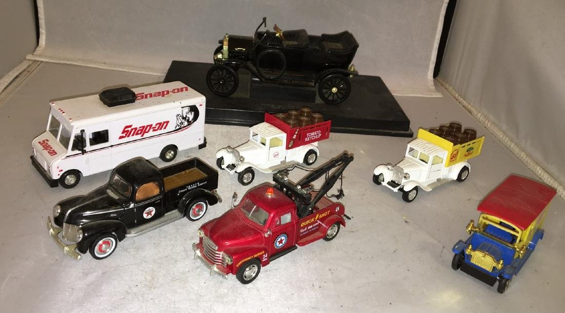 O Scale Delivery Trucks Plus