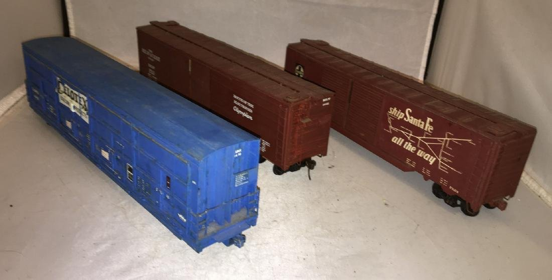 O Scale Wood and metal Double Door Box Cars