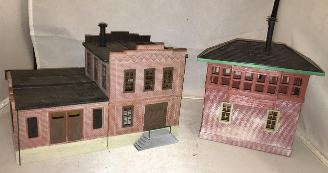 Korber O Scale Railroad Buildings