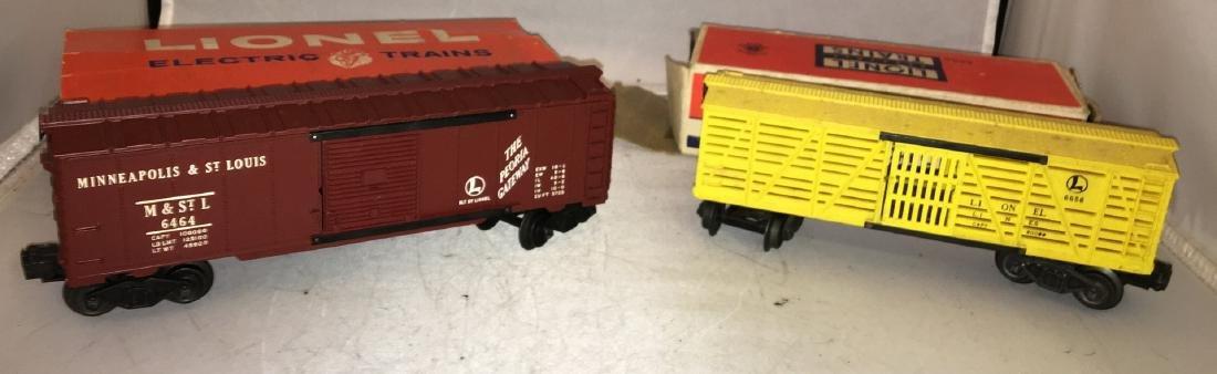 Lionel Postwar O gGauge Freight Cars