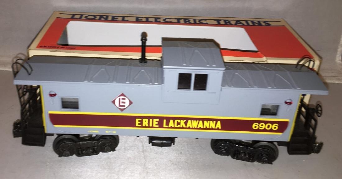 Lionel Erie Lackawanna O Gauge Extended Vision caboose