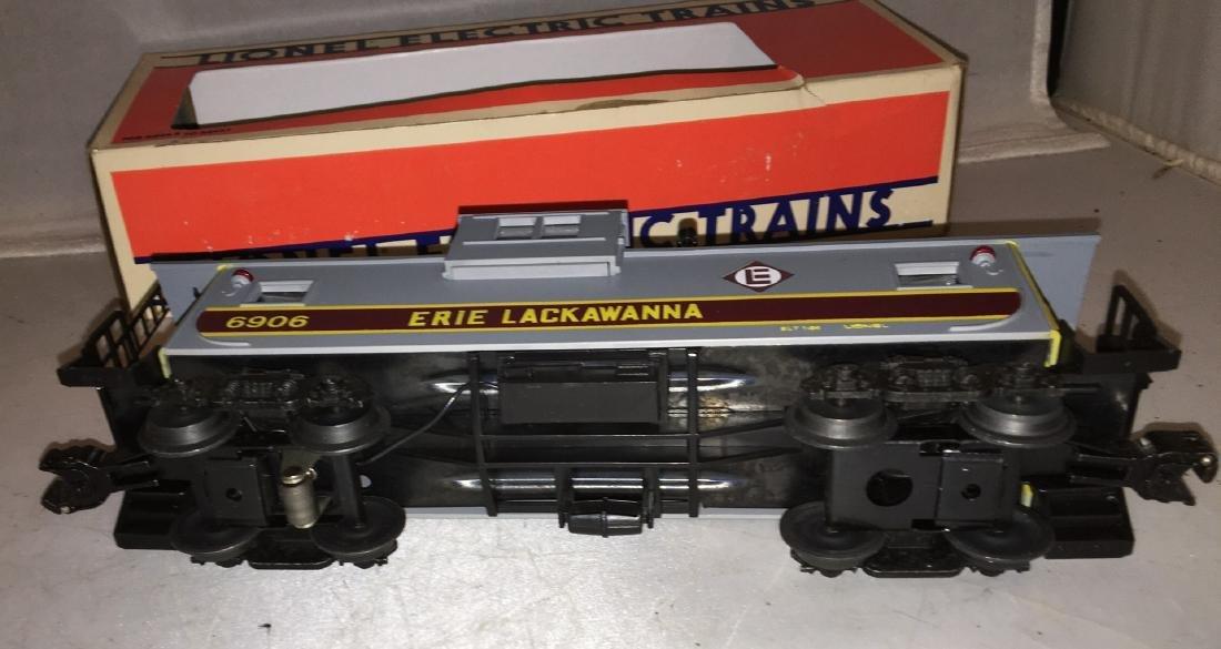 Lionel Erie Lackawanna O Gauge Extended Vision caboose - 3