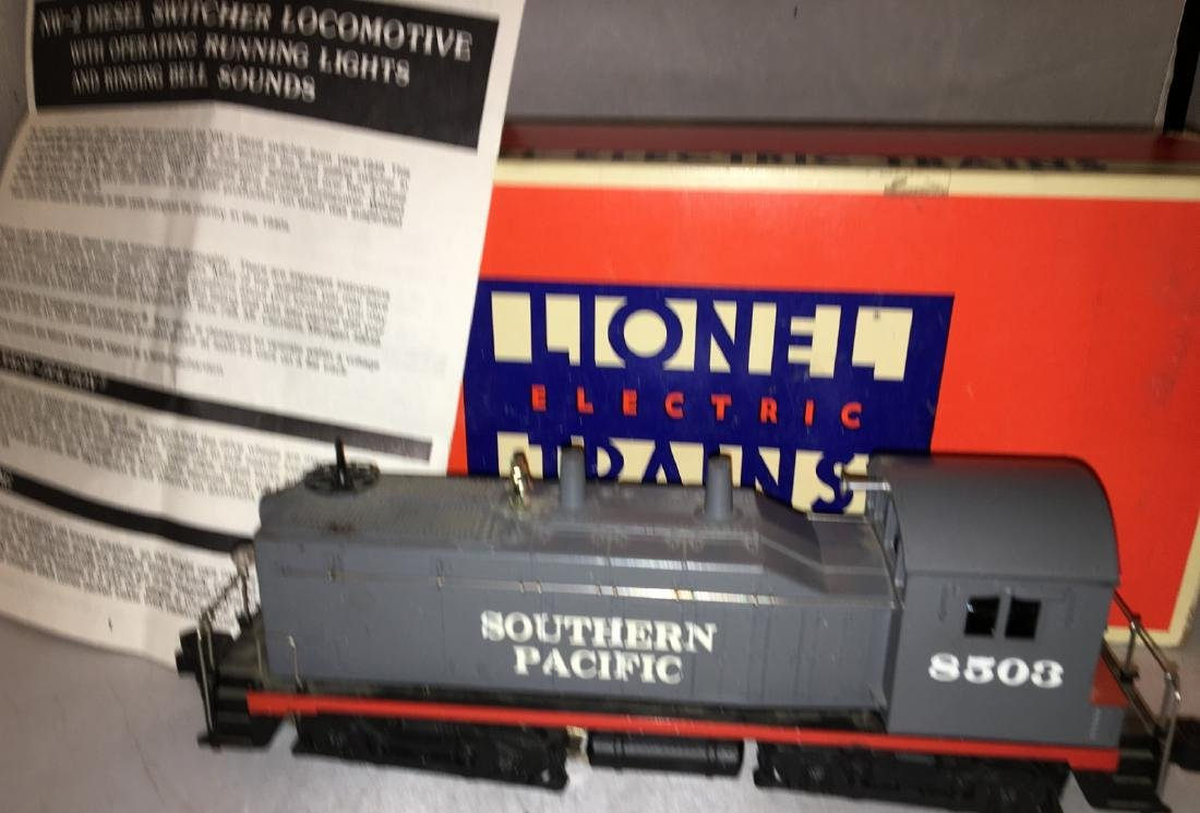 Lionel Southern Pacific O Gauge NW2 Diesel Engine