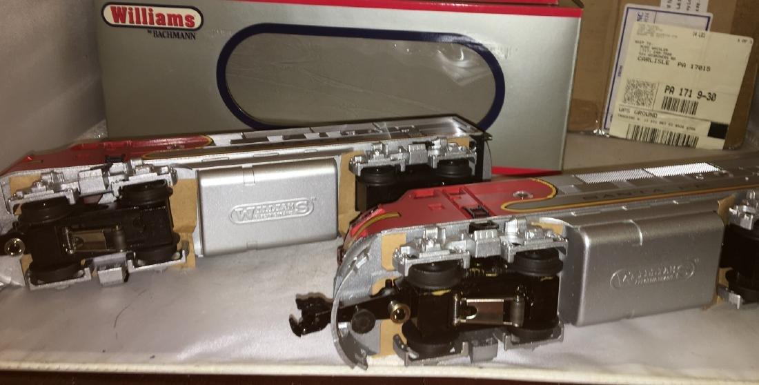 Williams by Bachmann SF O Gauge F3 AA Diesel Set - 4