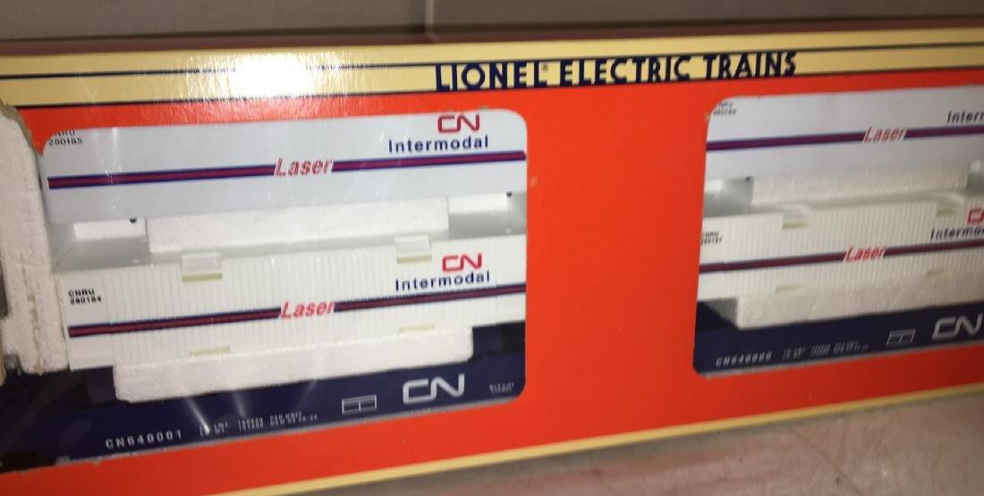 Lionel CN O Gauge MaxiStack Intermodal carrier