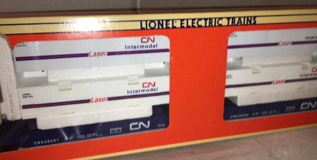 Lionel CN O Gauge MaxiStack Intermodal carrier