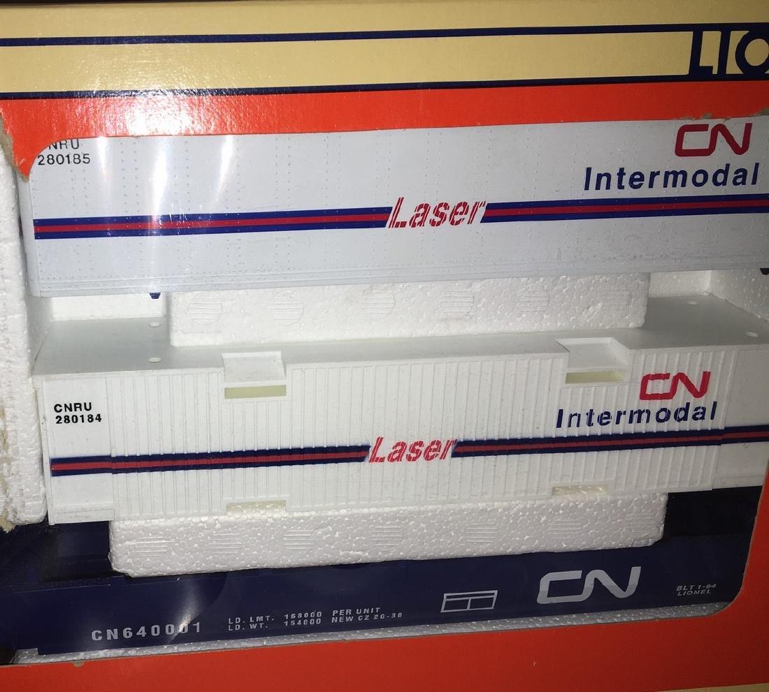 Lionel CN O Gauge MaxiStack Intermodal carrier - 2