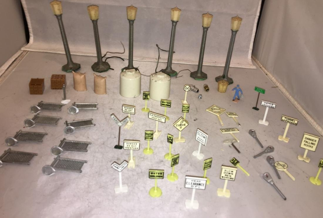 O Gauge Layout Accessories