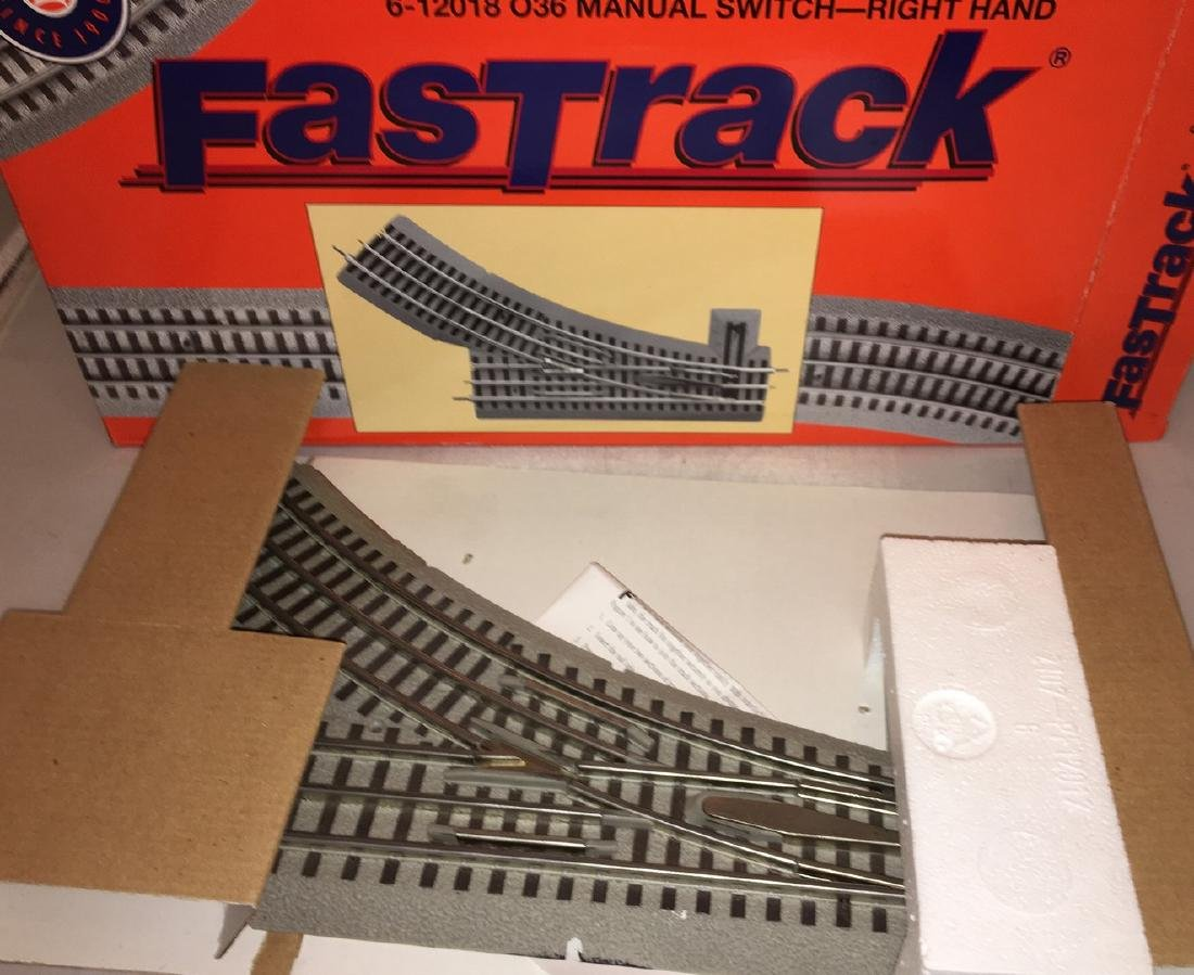Lionel 12018 O Gauge Fastrack Left Hand Switch