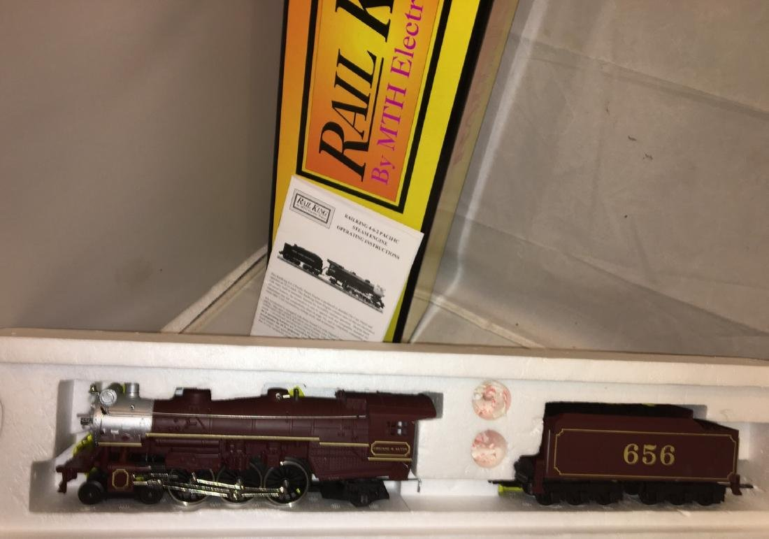 MTH Chicago and Alton O Gauge Pacific Steam Engien