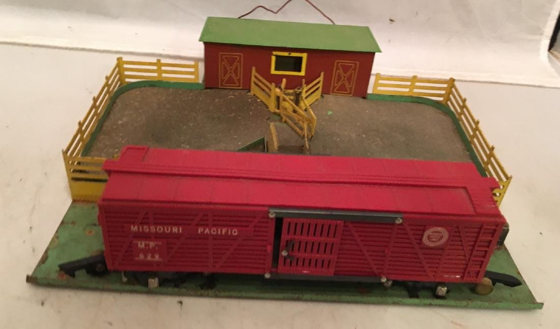 American Flyer S Gauge cattle yard