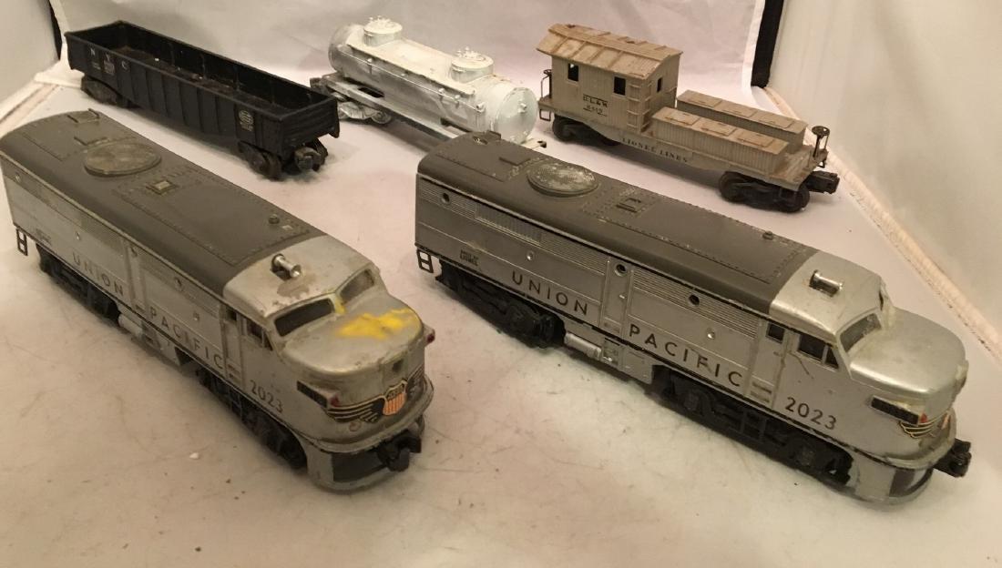 Lionel Postwar O Gauge Diesel Freight Train