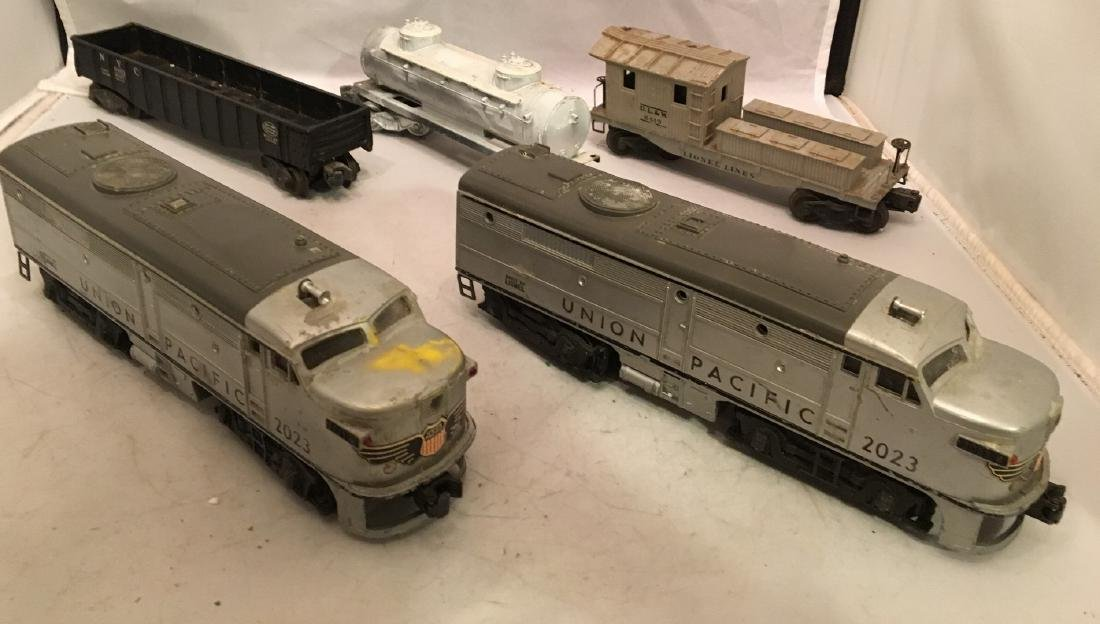 Lionel Postwar O Gauge Diesel Freight Train
