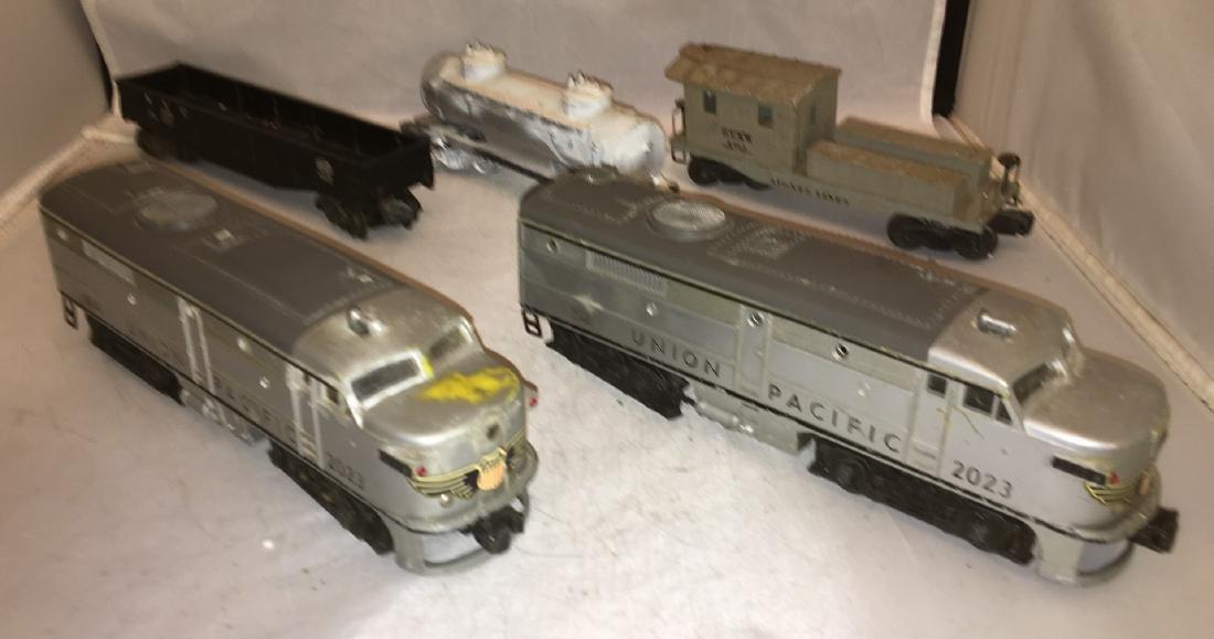 Lionel Postwar O Gauge Diesel Freight Train - 2