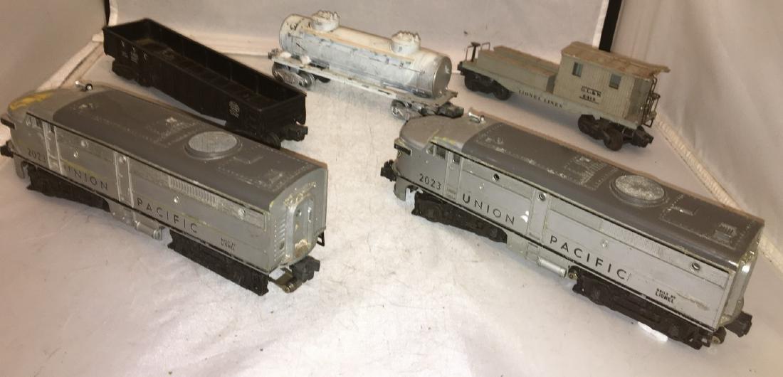 Lionel Postwar O Gauge Diesel Freight Train - 3
