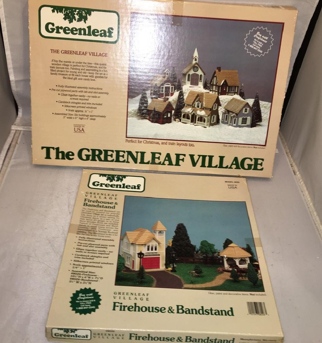 Greenleaf Wood O gauge Building Kits