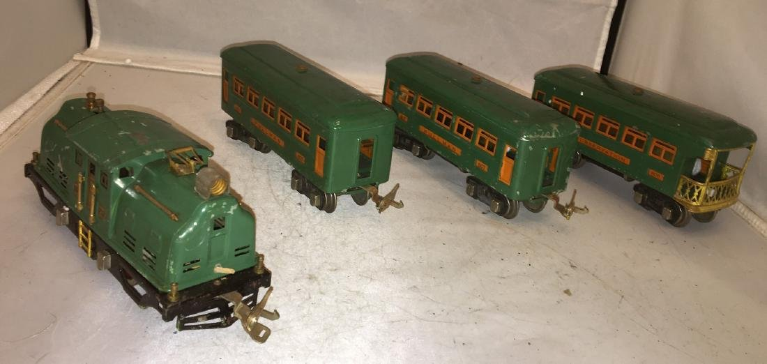 Lionel Prewar 252 O Gauge Passenger Train