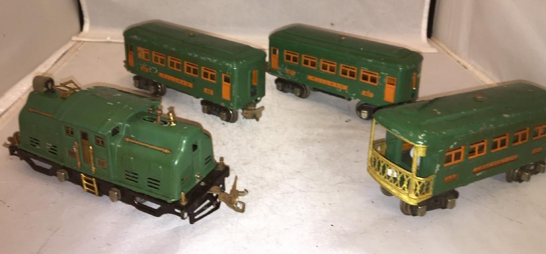 Lionel Prewar 252 O Gauge Passenger Train - 2