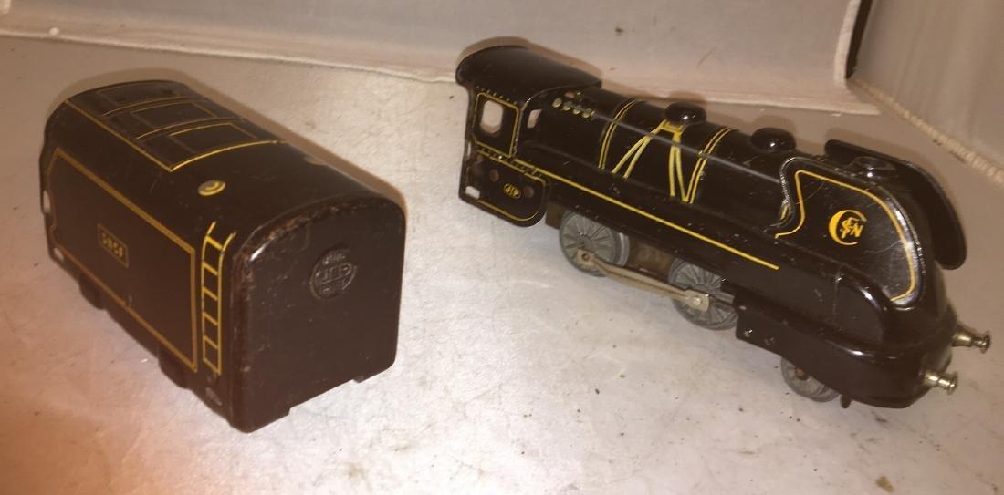 JEP Prewar O Gauge 2-4-0 Steam Engine