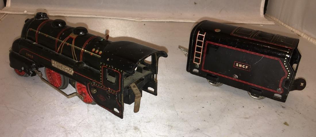 JEP Prewar O Gauge Bass Volt Steam Engine - 2