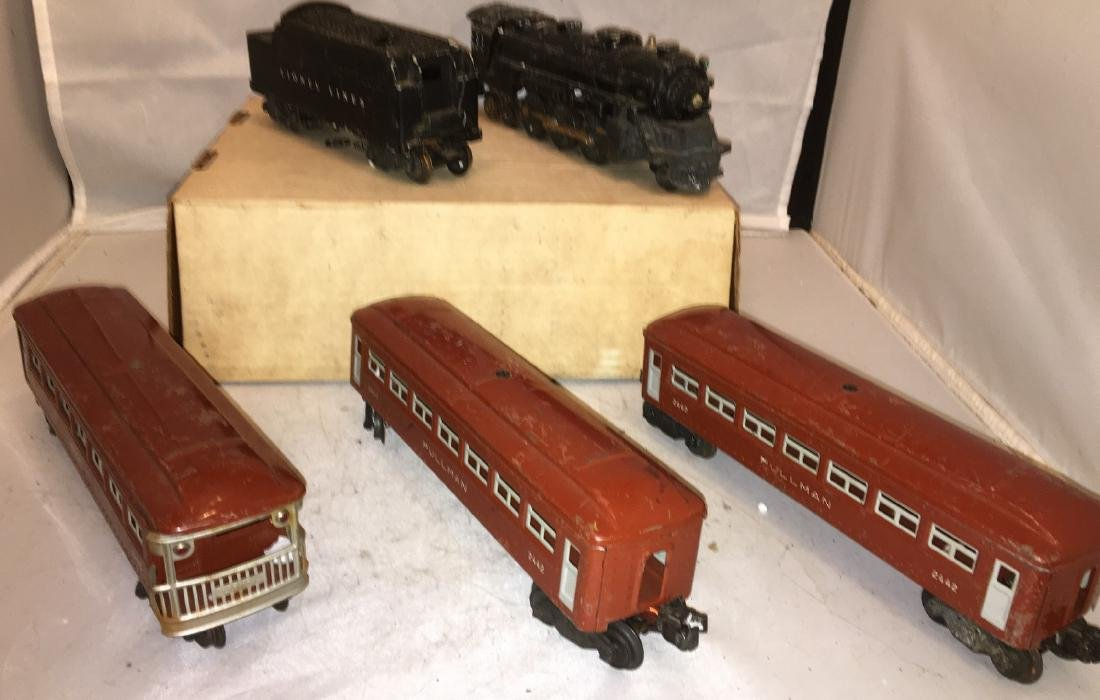 Lionel postwar O Gauge Steam Passenger Train