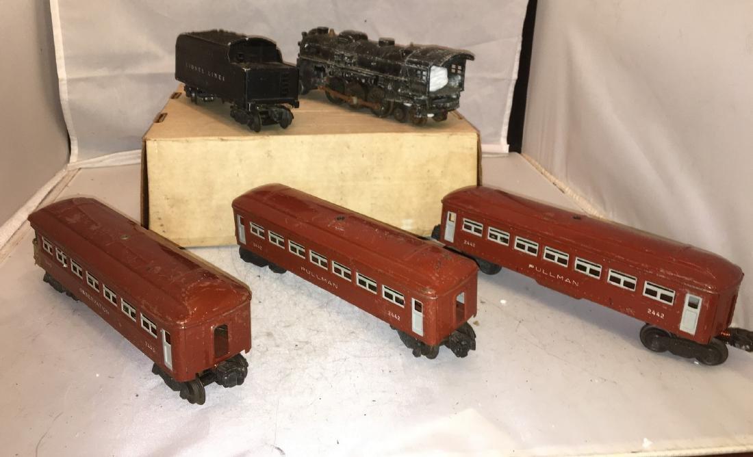Lionel postwar O Gauge Steam Passenger Train - 2