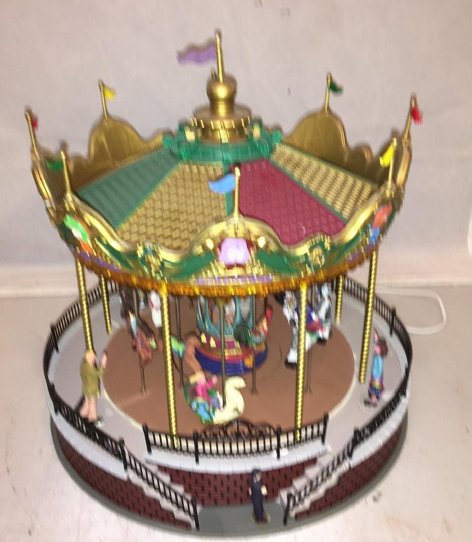 Lemax O Gauge Carousel