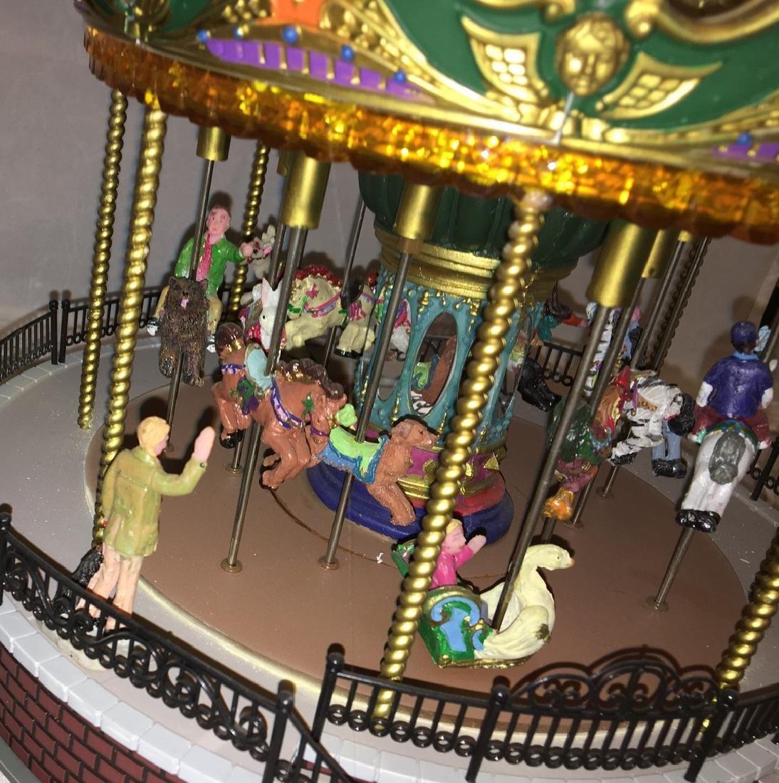 Lemax O Gauge Carousel - 3