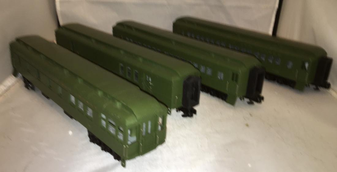 MTH Jersey Central O Gauge Passenger Car Set