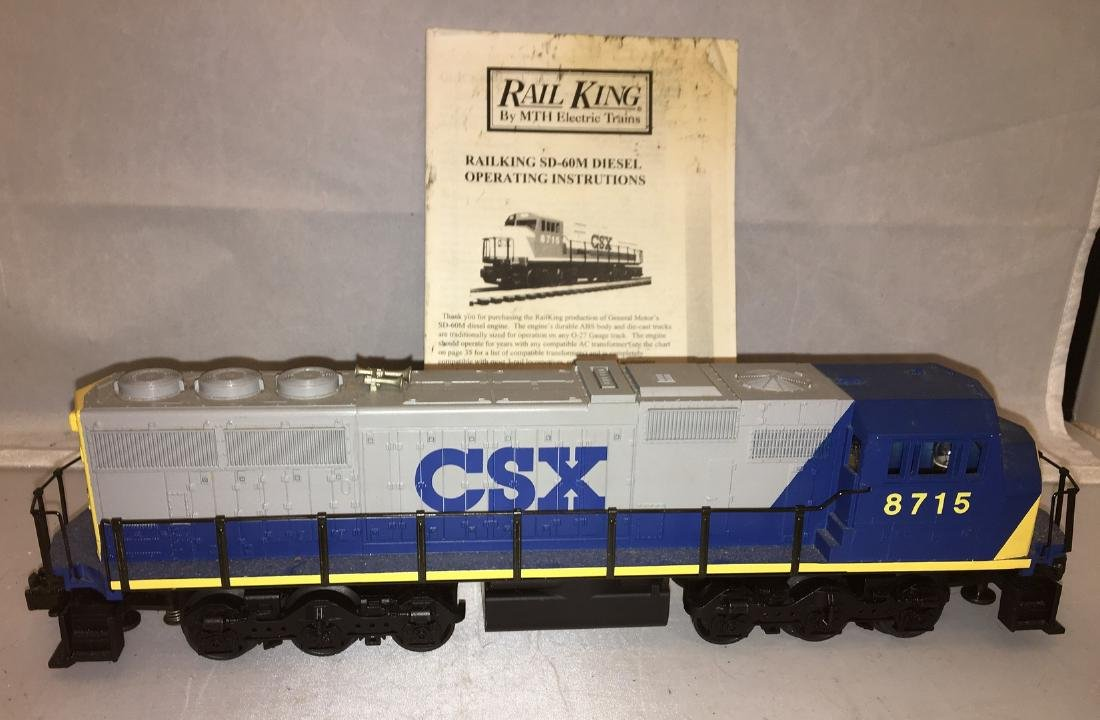 MTH CSX O Gauge SD-60M Diesel Engine