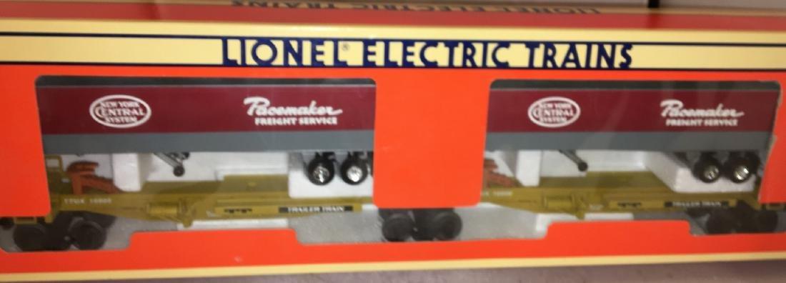Lionel NYC O Gauge TTUX Car Set