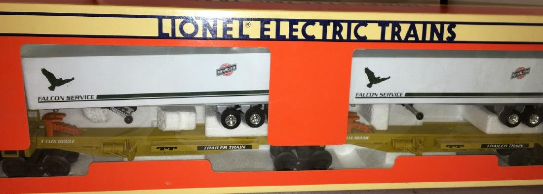 Lionel CNW O Gauge TTUX Car Set